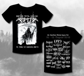 Barther Metal Open Air Shirt 2018 -Motiv 2 - Burning Barth