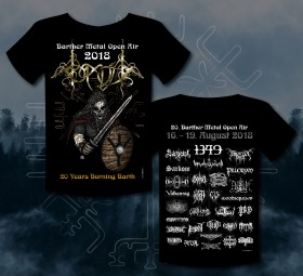 Abb.: Barther Metal Open Air Shirt 2018 -Motiv 1 - Viking
