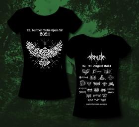 Barther Metal Open Air Girlie Shirt 2021 - offizielles Motiv