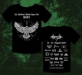 Barther Metal Open Air Shirt 2021 - offizielles Motiv