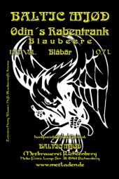 Odin´s Rabentrank -Met mit Heidelbeere-Baltic Mjød -0,7 l