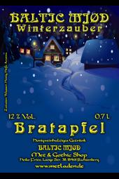 Winterzauber - Met mit Bratapfel- Baltic Mjød -0,7 - 12%