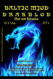 DRAKBLOD - Met mit Kirsche - Baltic Mjød -0,7 l - 10 %