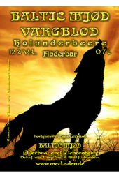 Vargblod - Holunderbeere -Baltic Mjød - 0,7 l - 12 %